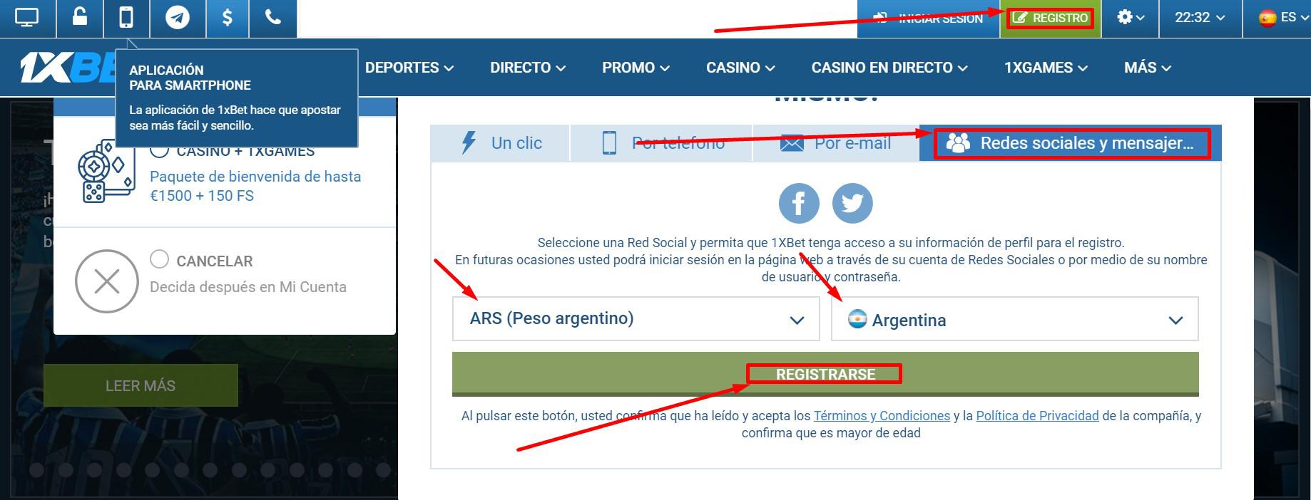 Opciones convenientes de 1xBet para crear una cuenta – como puede registrarse sin problemas